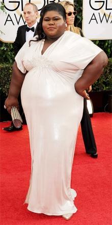 Diciamo che era difficile vestirla, l'attrice Gabourey Sidibe