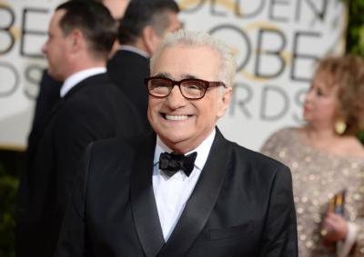 Secondo: Martin Scorsese (con tanto di occhialetto)