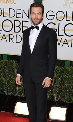 Terzo: il bellissimo Chris Pine!