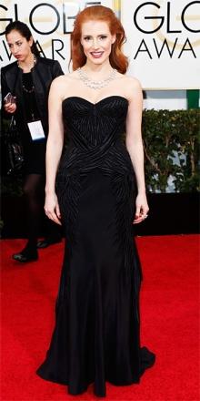 Jessica Chastain in Givenchy: mai esagerata sempre perfetta