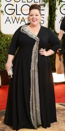 Melissa McCarthy in Neil Lane: amo questa donna! E' capace di vestire il suo fisico non semplice sempre con gusto e con il suo fantastico sorriso