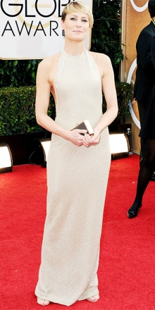 Robin Wright in Reem Acra: un'altra botta di colore!